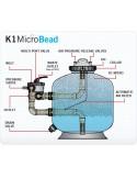 "EvolutionAqua K1 Micro Bead 20"""