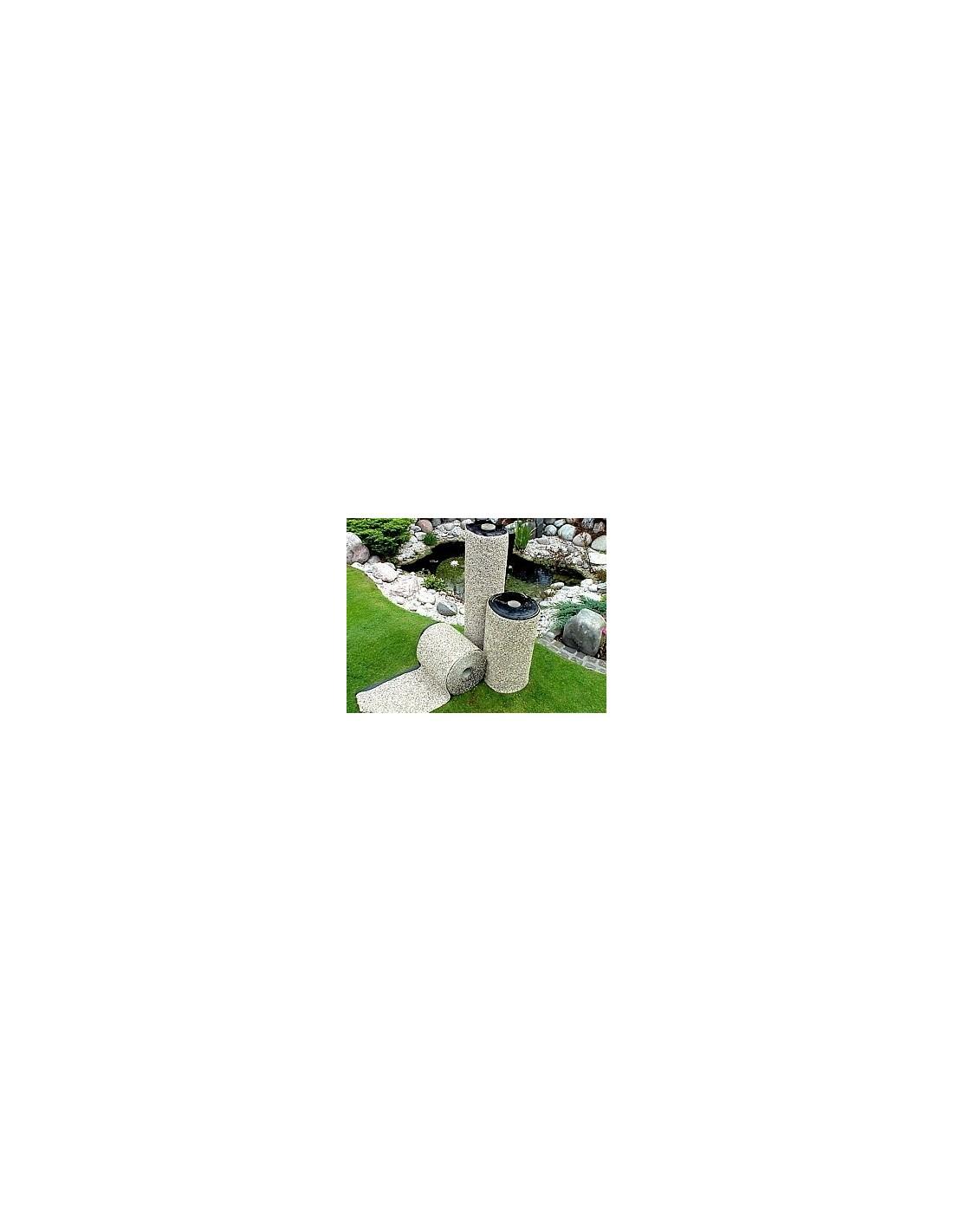 Lona de piedra para estanques for Estanques prefabricados grandes