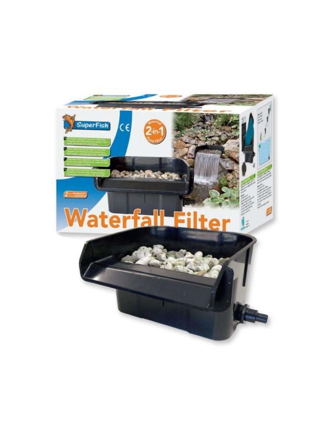 Cascada filtro sf para estanque for Filtro natural para estanque