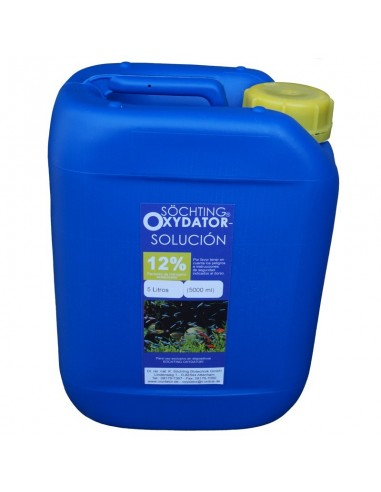 5l sol oxydator 12 for Antialgas para estanques con peces