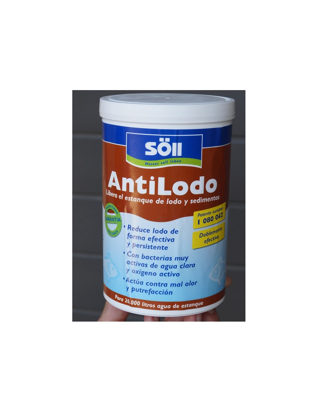 Anti lodos reductor de lodos para estanques for Antialgas para estanques con peces