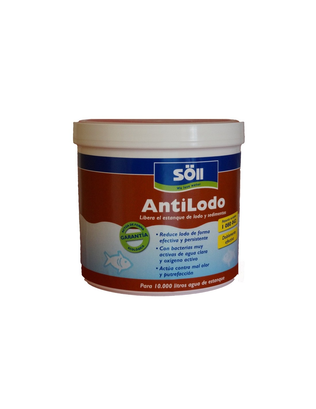 Anti lodo reductor de lodos para estanques Antialgas para estanques con peces