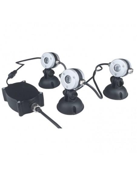 Lunaqua Mini LED Set 1W Blanca cálida, Oase