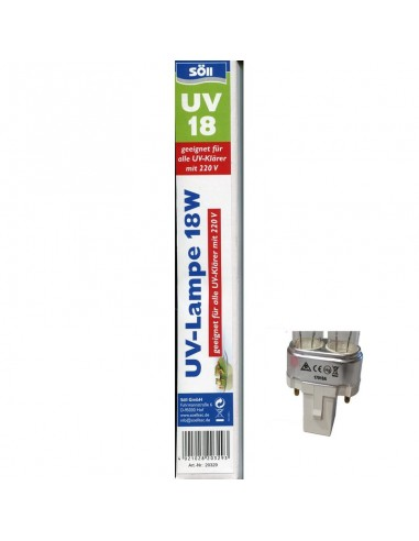 Lámpara UV-C 18W -220V