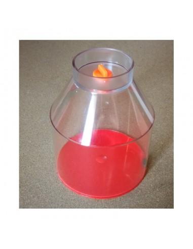 Oxydator W recipiente transparente