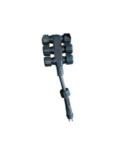 Conector múltiple 6 tomas 12V