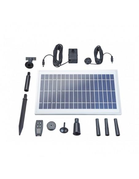 Fuente solar despiece