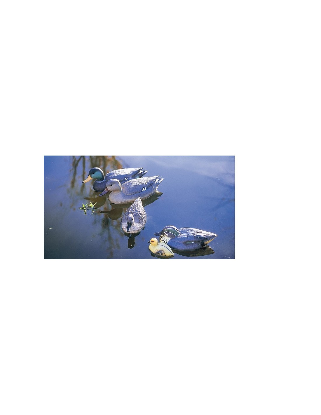 Patito figura decorativa for Accesorios para estanques